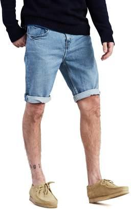 Levi's Levis Men's 502 Rolled-Hem Denim Shorts