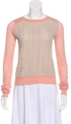 Diane von Furstenberg Knit Scoop Neck Sweater