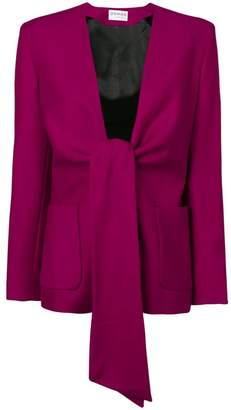 Osman Spencer tie-front jacket
