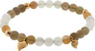 Tamara Comolli India Camel Moonstone Beaded Bracelet