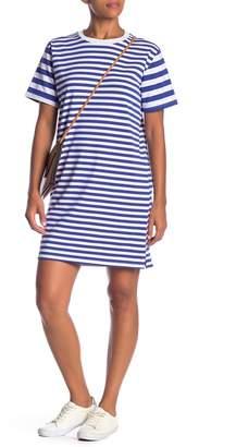 Cotton Emporium Thick Thin Stripe Dress