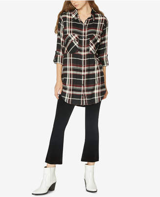 Sanctuary Main St. Plaid Tunic Shirt