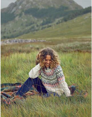 aerie Fair Isle Tunic Sweater