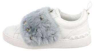 Valentino Rockstud Mink Sneakers