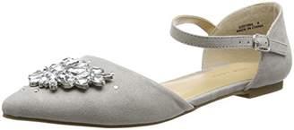 New Look Women's 5391984 Closed-Toe Heels, (Mid Grey), 37 EU
