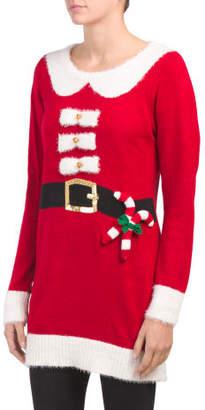 Santa Suit Sweater Tunic