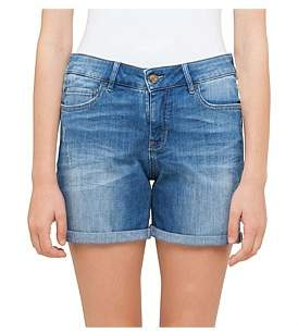 BOSS ORANGE Orange J70 Hershey Mid Rise Girlfriend Fit Shorts