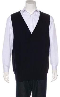 Prada Woven Sweater Vest