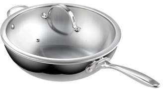 Cooks Standard 02595 30cm CVD Chinese Wok with Helper Handle