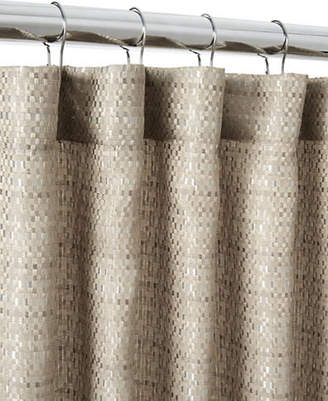Famous Home Fashions Basketweave Shower Curtain