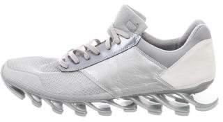 Rick Owens x Adidas Springblade Metallic Sneakers