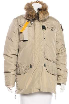 Parajumpers Fur-Lined Down Coat