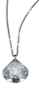 Crystal Pendant Necklace $220 thestylecure.com