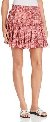 Poupette St. Barth Clara Ruffled Mini Skirt - 100% Exclusive