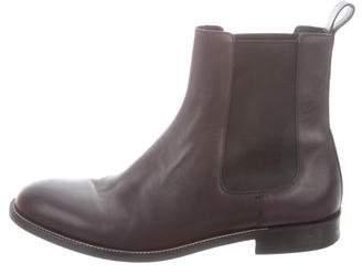 ea6e655d9774 Gucci Leather Chelsea Boots