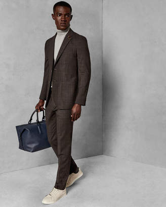 Ted Baker SHIELDT Checked wool trousers