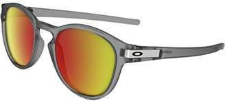 Oakley Men's Latch Non-Polarized Iridium Oval Sunglasses