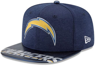 New Era Boys' Los Angeles Chargers 2017 Draft 9FIFTY Snapback Cap