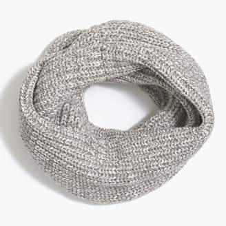 J.Crew Marled ribbed knit infinity scarf