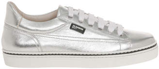 Jil Sander Navy Jetty Silver Sneaker
