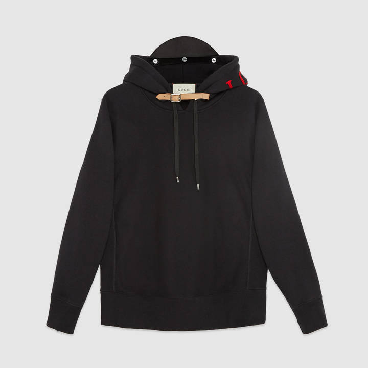 Cotton sweatshirt with appliqués 3