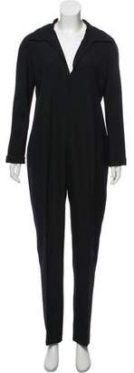 Martin Grant Wool Long Sleeve Jumpsuit