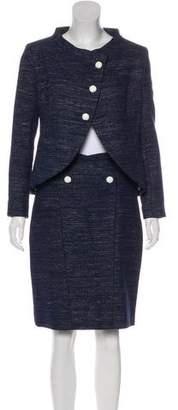 Chanel Metallic Tweed Skirt Suit w/ Tags