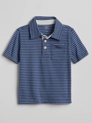 Gap Stripe Polo Shirt