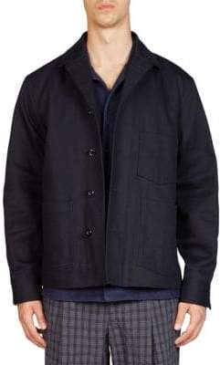 Acne Studios Buttoned Cotton Jacket