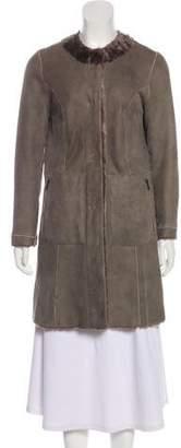 Drome Leather Reversible Coat