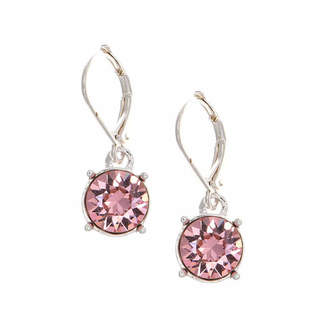 Gloria Vanderbilt Pink Drop Earrings