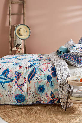 Anthropologie Artisan Quilts by Santorini Quilt