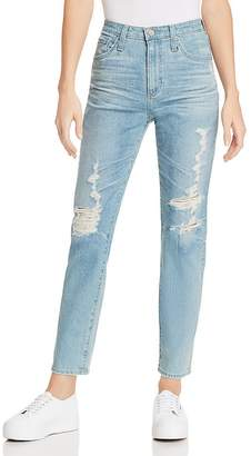 AG Jeans Phoebe Straight Jeans in 18 Years Headlands