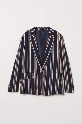H&M Striped Jacket - Blue