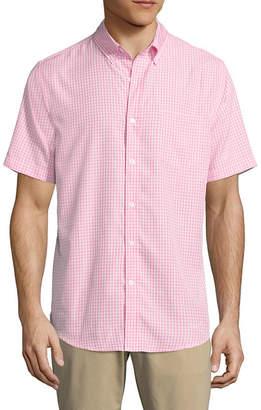 ST. JOHN'S BAY Short Sleeve Performance Button-Front Shirt