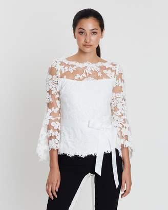 Hallie Lace Bell Sleeve Top