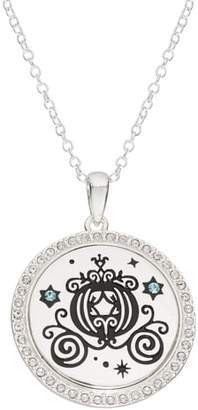 Disney Princess Cinderella Carriage 'The Adventure is ON' Pendant Necklace
