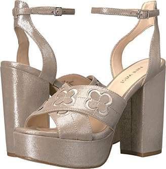 Nine West Women's Koolkat Metallic Platform Sandal