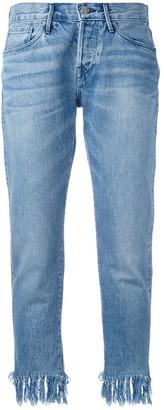 3x1 Tassel Fringe Jeans