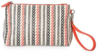 Oliver Bonas Lana Weave Clutch Bag