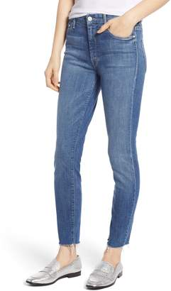 Mother The Looker Frayed Ankle Jeans