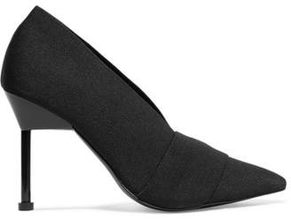 Mercedes Benz Castillo - Suke Stretch-twill Pumps - Black