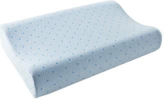 Rio Arctic Sleep By Pure Rest Cool-Blue Memory Foam Contour Pillow