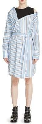 Maje Riavi Layered Shirtdress