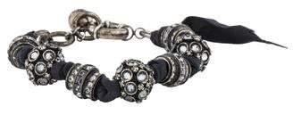 Lanvin Crystal Bead Bracelet