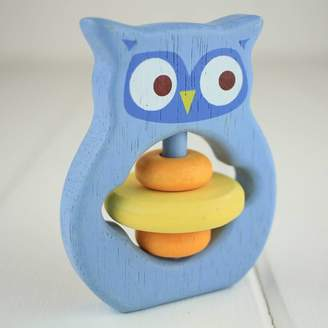 Nest Wooden Baby Grabbing Toy Owl