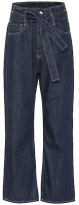 3x1 Kelly Paperbag wide-leg jeans