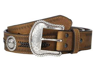 Ariat Aztec Edge w/ Arrow Lacing Belt