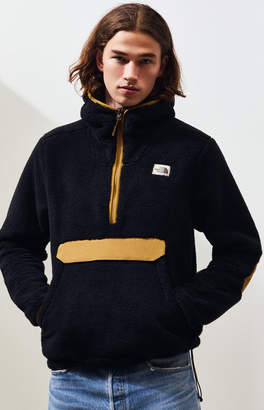 The North Face Black & Brown Campshire Fleece Pullover Hoodie