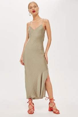 Topshop Satin Slip Dress